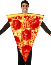 Adult Pizza Costume Pepperoni Food Restaurant Unisex Mens Womens Funny Outfit