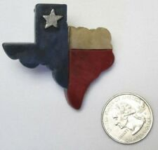 Western Mini Magnet/Clip/Ornament R/W/B - State of Texas