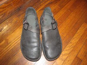 Chaco PEDSHED Black leather shoes   Men's 11.5  VIBRAM