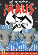 Maus II - A Survivor's Tale - And Here My Troubles Began - SC Graphic Novel 1992