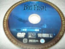 Big Fish Dvd Disc Only Used Cleaned Tested Freeship No Tracking
