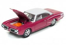 1/64 RACING CHAMPIONS 3A6 1970 Dodge Super Bee (Panther Pink & White)