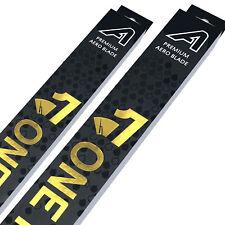 "Front Aero Flat Wiper Blades [PAIR] 19"" + 19"" V1"