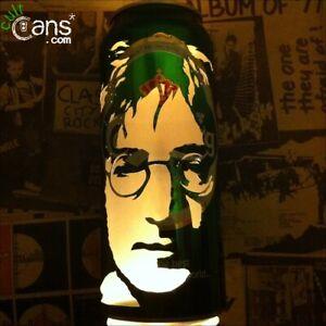 John Lennon Beer Can Lantern! The Beatles, Imagine, Pop Art Lamp - Unique Gift!
