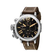 Mechanisch - (automatische) Armbanduhren mit Silber-Armband und Chronograph