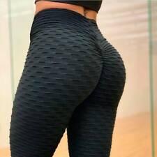 Pantalones Mujer Anticelulitis Leggings Cintura Alta Deporte Mallas Yoga Fitness