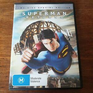 Superman Returns DVD R4 Like New! FREE POST