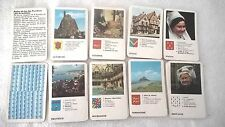ancien jeu de carte 7 familles les provinces