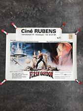 Original 1981 Flash Gordon Belgian Movie Poster