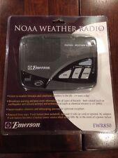 New Emerson Noaa Weather Band Am/Fm Portable Radio Model Ewr850