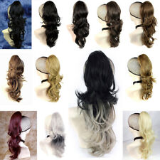 Wiwigs Long Wavy Black,Brown,Blonde,Red Ponytail Claw Clip in Hair Piece