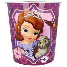 290505- Girls Disney 'Sofia The First' Purple Plastic Bin- Great Price!