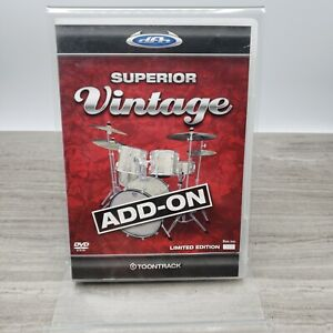 Toontrack DFH Superior Vintage Add-On - Limited Edition - Discontinued - DVD