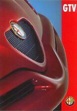 ALFA ROMEO GTV 2.0 TWIN SPARK 1996-98 ORIGINALE UK Sales Cartella No. ar551
