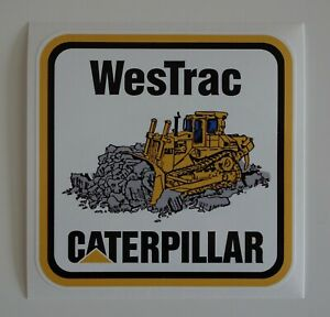 WESTRAC CATERPILLAR MINING STICKER