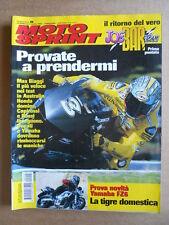 MOTOSPRINT n°8  2004 [Q77] Test YAMAHA FZ6 KAWASAKI KLV 1000