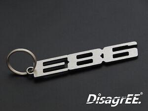 """Schlüsselanhänger """"E86"""" für BMW Z4 Coupe 2.5 3.0 i si M 3.2 Edelstahl gebürstet"""