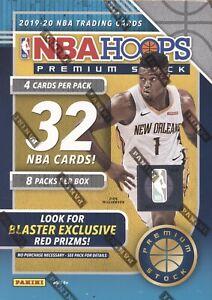 2019-20 PANINI NBA HOOPS PREMIUM STOCK BASKETBALL SEALED 8 PACK BLASTER BOX NBA