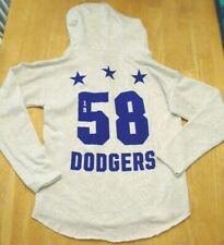 Victoria Secret PINK mlb Los Angeles Dodgers crew pullover sweatshirt hoodie M