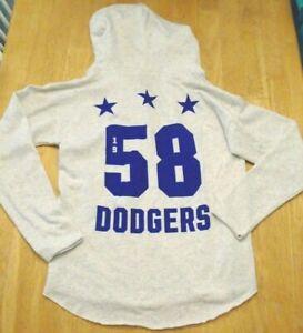 Victoria Secret PINK mlb Los Angeles Dodgers crew pullover sweatshirt hoodie M