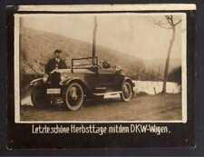 117856 Foto DKW Motoren Wagen Letzte schöne Herbsttage Cabriolet 1928 Rasmussen
