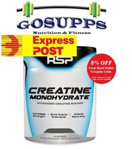 RSP Nutrition Creatine Monohydrate 300 / 500g Dyno Amino Lean FREE EXPRESS