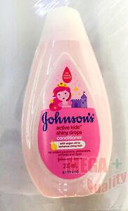 200ml Johnson Active kids baby mild Hair conditioner shiny Drop silky soft hair
