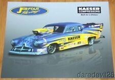 2014 Jeff Brooks Kaeser Compressors '51 Henry J Top Sportsman NHRA postcard