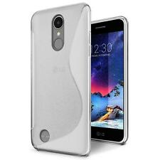 Phone Cover LG K10 2017 Silicone Case Rubber Case Backcover Transparent
