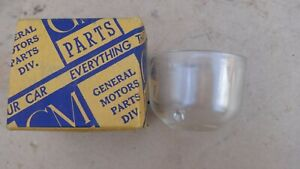 NOS 1937 1955 Chevy Fuel Pump GLASS BOWL Original GM 1953 Corvette pontiac gmc