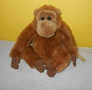 """10"""" Ganz Monkey Orangutan Tango Vibrating / Sounds Stuffed Plush H4419 w/ Tag"""