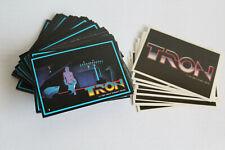 1982 Donruss ~ Tron ~ Complete Set ~ 66 Cards / 8 Stickers