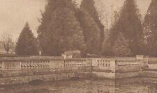 G2057 France - Chateau de Richelieu - Le parc - Stampa d'epoca - 1932 Old print