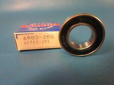Nachi 6902 2RS Double Sealed Single Row Ball Bearing (61902 SKF, NSK, NTN)