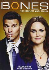 Bones Ninth 9th Season 9 Nine DVD Set Complete Series TV Show David Boreanaz Box