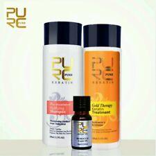 Gold therapy keratin formula best Hair Care and repair damaged hair&oil argan