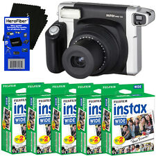Fujifilm INSTAX 300 Wide-Format Instant Film Camera +instax Wide Film,100 Sheets