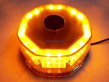32 LED BEACON LIGHT VEHICLE TOP MAGNETIC EMERGENCY WARNING STROBE LIGHTS AMBER
