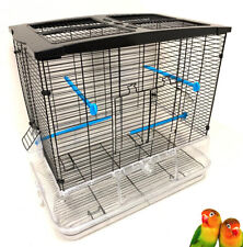 Large Acrylic Transparent Canary Parakeet Cockatiel LoveBird Finches Bird Cage