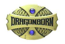 Stone Enamel Pin By 1980Who Dragonborn - Antique Bronze Blue