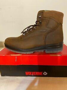 "Men's Wolverine W03226 Durashock 6"" Boot Waterproof Insulated 200G 8M"