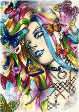 Butterfly Dreams Counted Cross Stitch Kit fantsy