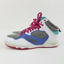PASTRY High Top Hip Hop Dance Shoes Colorful Women's Size 7 Mint Cond White Pink