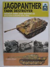 Book: Jagdpanther Tank Destroyer German Army and Waffen-SS, Western Europe 1944–
