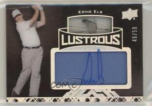 2014 Upper Deck Exquisite Collection UD Black /50 Ernie Els #57 Auto