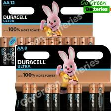 20x Duracell AA Ultra Power Alkaline Batteries LR6 MX1500 MN1500 MIGNON