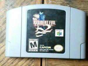 Resident Evil 2 64 (Nintendo 64, 1999) VG Shape  Authentic