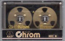 RAR!! AKG  Studio Chrom  Collection  Audio Cassette   ,NEU!