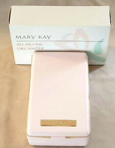 Mary Kay Pink All in One Box NIB Compact for UR Lipstick Foundation Pencil Brush