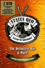 Status Quo - Accept No Substitute : The Definitive Hits (NEW DVD)